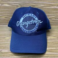Vintage 90s The Game Russell Athletic Georgetown Hoyas Snapback Hat Embroidered