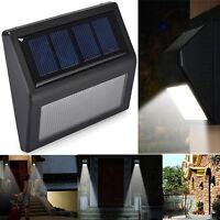 6 LEDs Clair énergie solaire Capteur De Lumière Lampe Murale