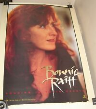 ROLLED 1994 CAPITOL Records BONNIE RAITT LONGING in THEIR HEARTS PROMO POSTER
