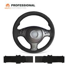 DIY Soft Suede Steering Wheel Cover Wrap for BMW E36 E36/5 E46/5 5 Series E39 M3