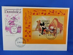 DOMINICA FDC 1979 MICKEY MOUSE   [S29/42]