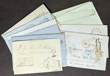 EDW1949SELL : MEXICO Collection as received of 12 interesting stampless letters.