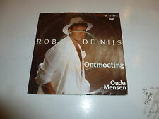 "ROB DE NIJS - Ontmoeting - 1986 Dutch 7"" Juke Box Vinyl Single"