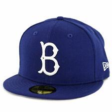 "New Era 5950 Brooklyn Dodgers ""Coop Wool 1949"" Fitted Hat (Dark Royal) MLB Cap"