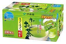 New!! ITOEN Japanese Green Tea 0.8 g×100 Sticks Maccha Oi Ocha from Japan Import