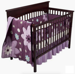 Plum Dandy 3pc. Crib Bedding Set by NoJo