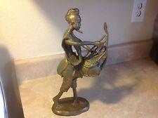 VINTAGE STATUE SCULPTURE North African bronze sculpture lost method AOA BP