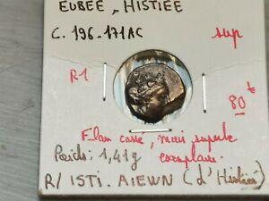 superbe tétrobole argent Eubée Histiée , 196-168 A-C ! 1,41 g