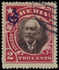 "LIBERIA O60 - President Arthur Barclay ""Official Postage"" (pb26047)"