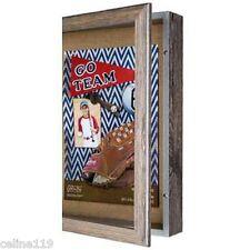 """16"""" x 20""""  Rustic Barn Wood Collectible Shadow Box"""