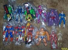 1994 Toy Biz Fantastic Four 12 figure Collection Lot Rare HTF
