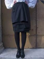 Gonna donna vintage Krizia nera 1990's retrò woman style fashion style moda cool