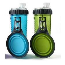 CLEARANCE Dexas Popware Snack-Duo Blue 360ml - 12oz With Dog Travel Cup