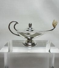 1948-1955 MEXICAN .925 STERLING SILVER ALADDIN LAMP CIGAR LIGHTER