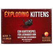 Asmodee Exploding Kittens - explosives Katzen Russisch Roulette (deutsch)