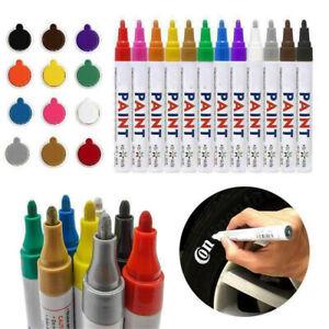 3.0mm Oil-Based Waterproof Permanent Paint Marker Pen For Car Tyre Tread Rubber