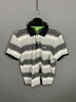 HUGO BOSS Polo Shirt - XL - Modern Fit - Striped - Great Condition - Men's