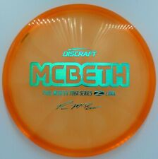 New Discraft Tour Series Paul Mcbeth Z Luna *Orange Clean* 173-174g