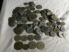 Belgique lot de plus de ½ kilo d'anciennes pièces de monnaie en vrac, toutes épo