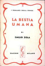 LA BESTIA UMANA DI EMILIO ZOLA