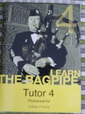 Apprenez Piobaireachd Tutor Book 4 & CD-ROM classique Tuyau Highland CORNEMUSE
