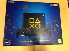 Playstation 4 días de juego edición limitada 500gb