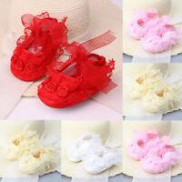 Newborn Infant Baby Kids Shoes Girl Toddler Soft Sole Crib Shoes Prewalker 0-18M