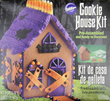 Halloween Chocolate Cookie House Kit Pre-Assembled from Wilton #4326 - NEW