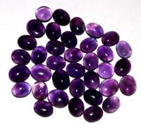 104.80 cts Amethyst 100/% Natural Untreated Gemstone Cabochon Lot  #yac210