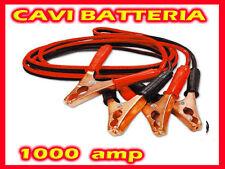 CAVI COLLEGAMENTO BATTERIA 1000 AMP AVVIAMENTO AUTO CAMPER CAMION MOTO 2.8MT