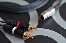 2 Phono / RCA per Bang & Olufsen B&O lead (5 PIN DIN) 5m