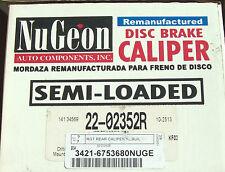 Nugeon 22-02352R - Rear Disc Brake Caliper, Right
