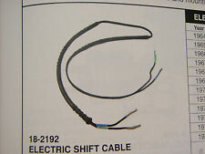 ELECTRIC SHIFT WIRE CABLE 1964 THRU 1977 REPLACES OMC 0379628 OUTDRIVE LOWERUNIT
