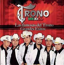 Las Famosas del Trono: Grandes Exitos by El Trono de Me'xico (CD) BRAND NEW SEAL
