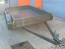 8x5 Tandem Trailer Heavy Duty (Cheq Plate Floor and Sides)