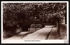 Romiley nr Stockport. Oakwood Road by C&O Winn, Romiley