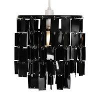 Modern Black 2 Tier Ceiling Pendant Light Shade Chandelier Lampshade NEW