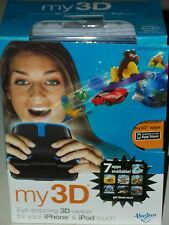 My 3D cell phone viewer for iPhone & iPod touch apps video Xmas stocking stuffer