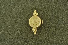 VINTAGE LADIES OMEGA WRISTWATCH CALIBER 483 14K SOLID GOLD KEEPING TIME