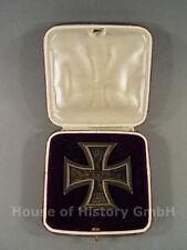 Eisernes Kreuz 1.Klasse mit Verleihungsetui, Silber, Träger-Gravur WALLENIUS