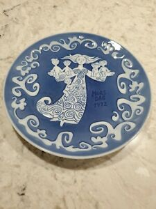 Royal Copenhagen 1972 Mothers Day (Mors Day) Plate