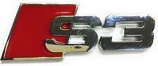 New Chrome Audi S3 SLine Emblem Replaces Rear Audi S 3 S Line Badge A3 A4 A5 Q4