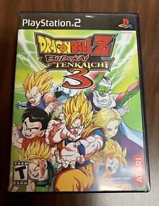 Authentic Dragonball Z Budokai Tenkaichi 3 PlayStation 2 PS2 Complete Tested
