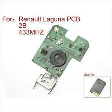 New Remote PCB Board 433Mhz PCF7947 for Renault Laguna Espace 2001-2006 2 Button