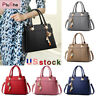 Women PU Leather Handbag Tassel Totes Bag Messenger Crossbody Purse Shoulder Bag