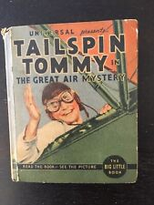 """Tailspin Tommy """"The Great Air Mystery"""" 'Big Little Books'"""