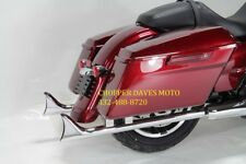 FISHTAIL PIPES 36'' CHOLO HARLEY BAGGER TOURING 17'-18 FOR MILWAUKEE 8