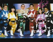 Amy Jo Johnson Pink Power Ranger autographed 8 x 10 photo, Power Rangers