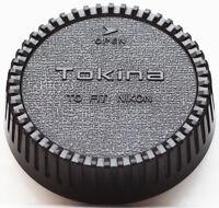 Tokina Rear Lens Cap For Nikon F AI AIS AF AFS LF1 Mount Lenses