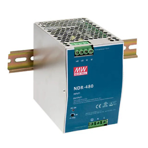 Meanwell NDR-480-24 Power Supply 24V 480W Guide Of
